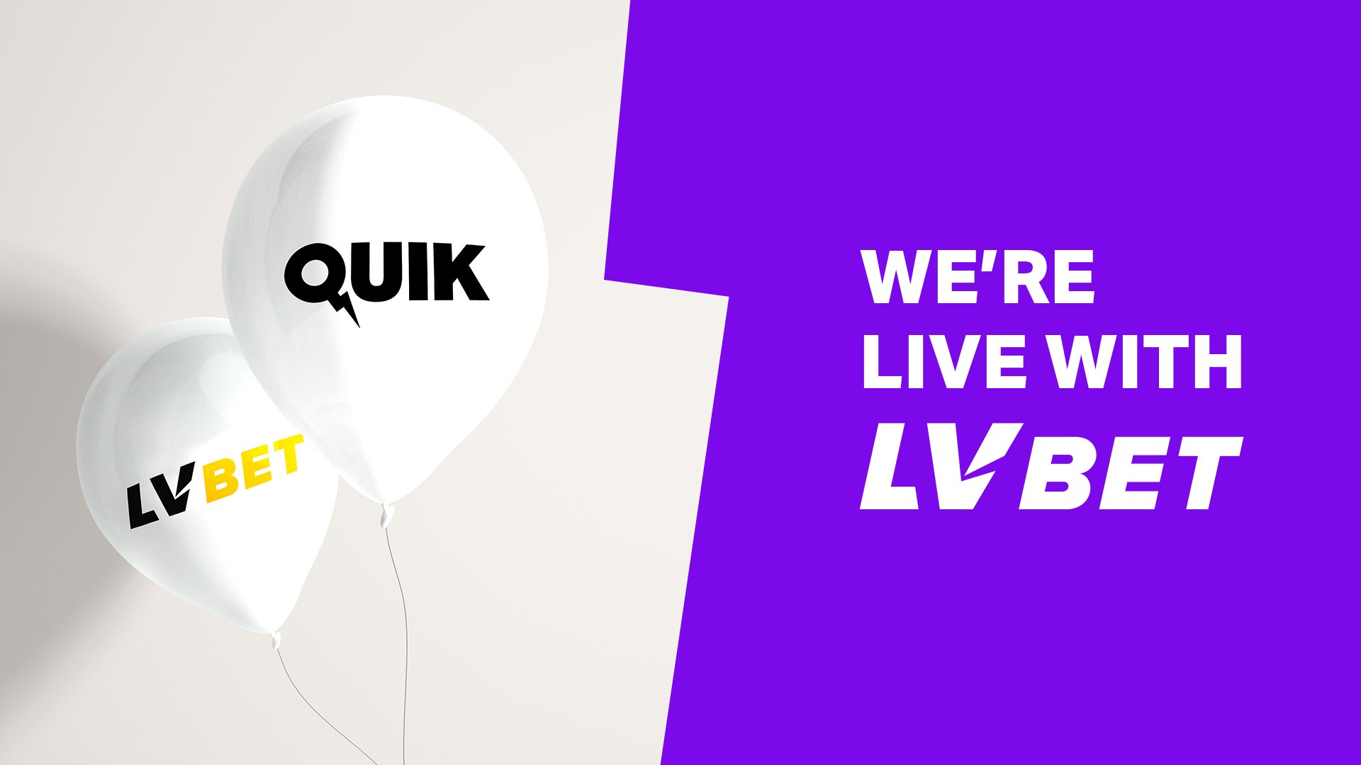LV BET players can now play Quik's portfolio of Unique Live Games